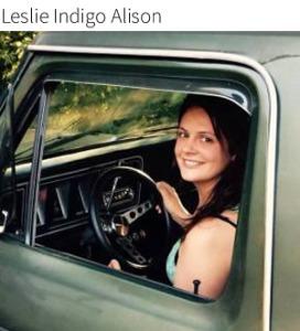 Leslie Indigo Alison truck picture